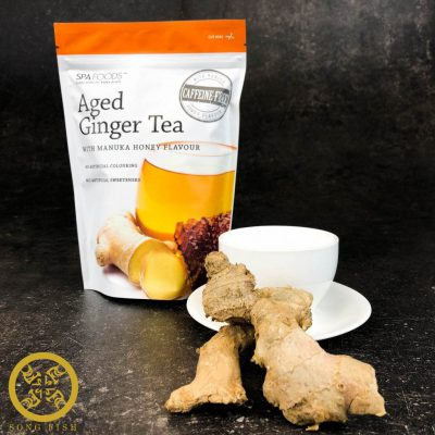 Aged Ginger Tea with Manuka Honey Flavours-Front